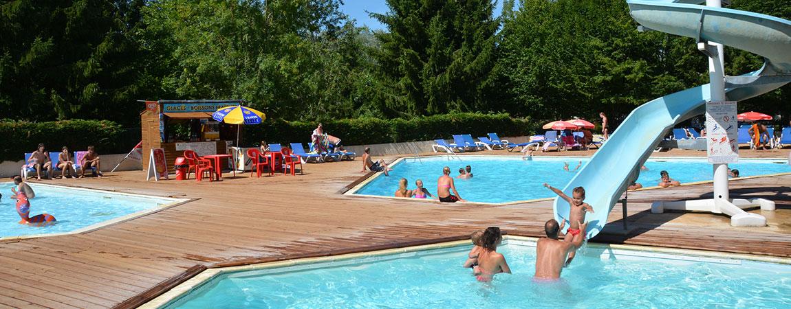 Ontdek camping zwembaden for Les piscines